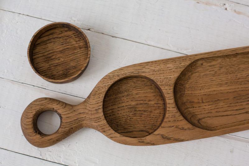 Доски She Длинная доска для подачи закусок из дерева 1900 руб